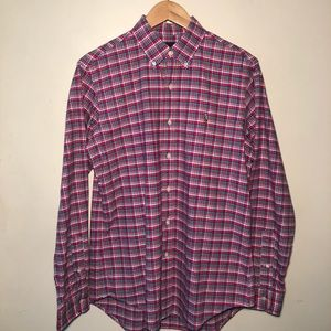 Polo Ralph Lauren Men's (M) Red Button Up